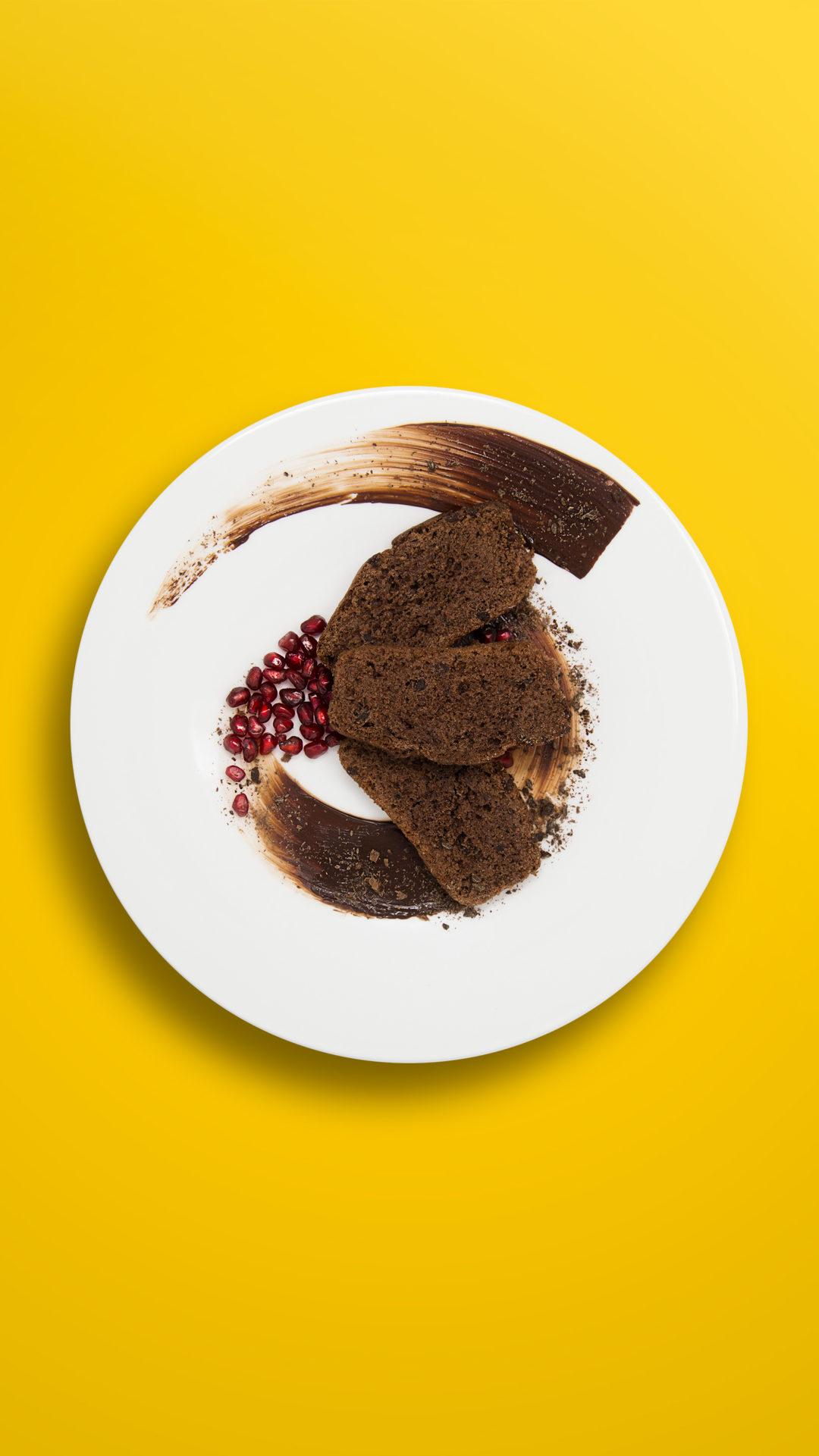 Carob-Haferkuchen