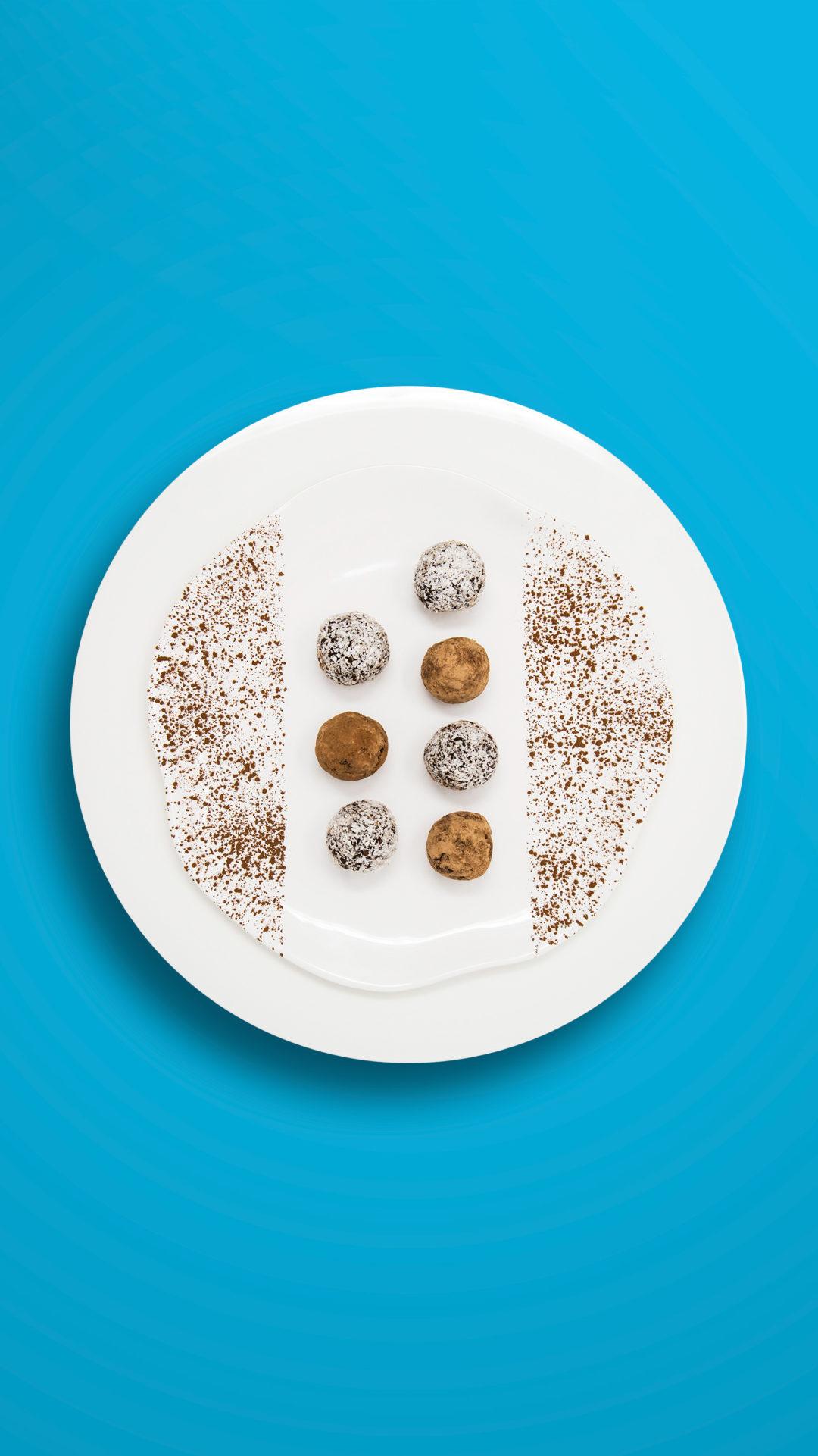 Schokobällchen ohne Extrazucker (25 Stück)