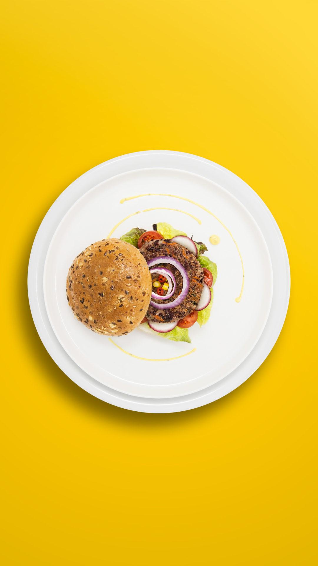 Hamburger aus roten Bohnen (ca. 8 Hamburger)