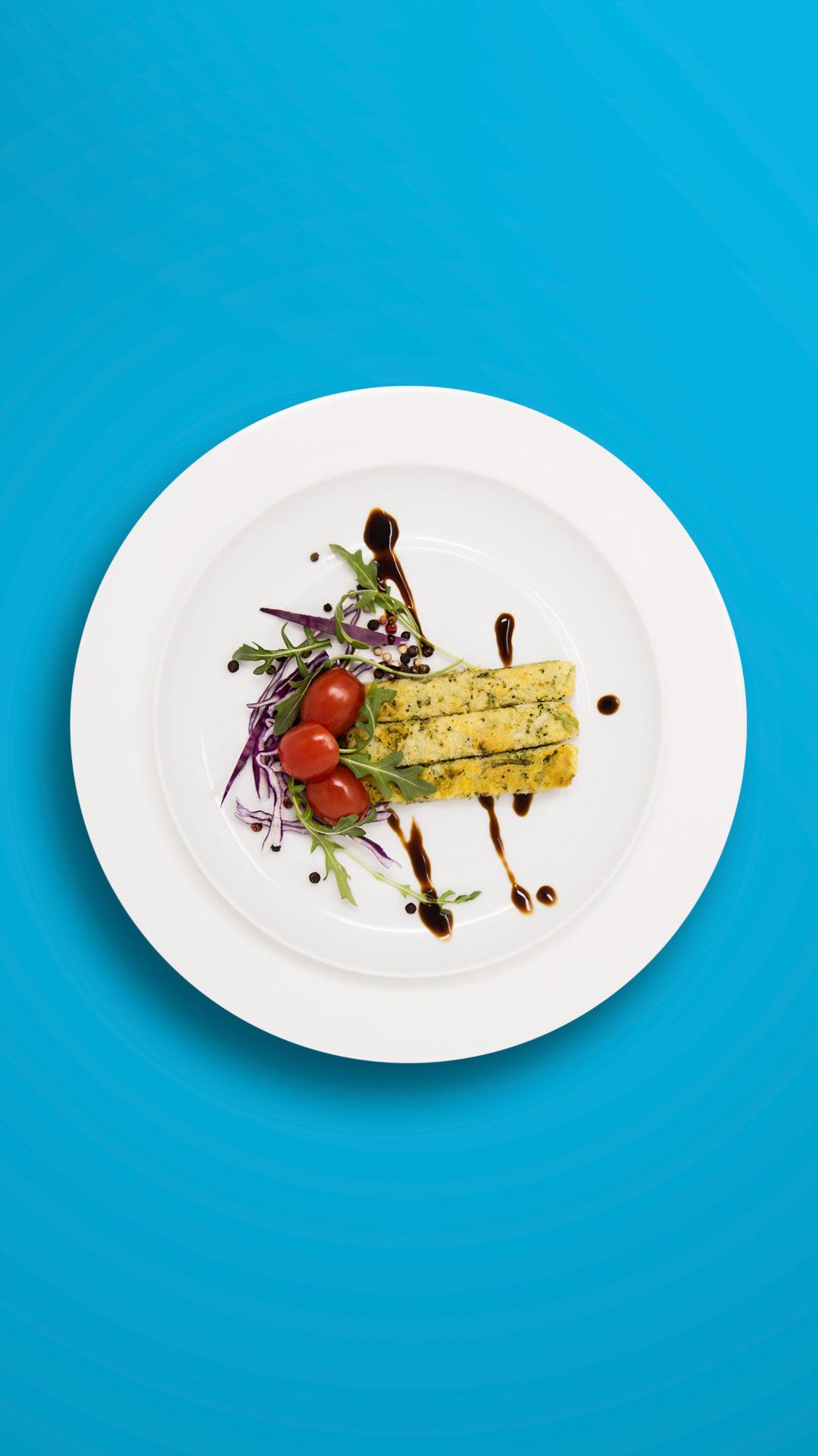 Polenta-Brokkoli-Streifen