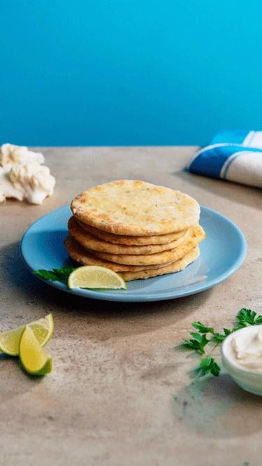 Blumenkohl-Tortillas