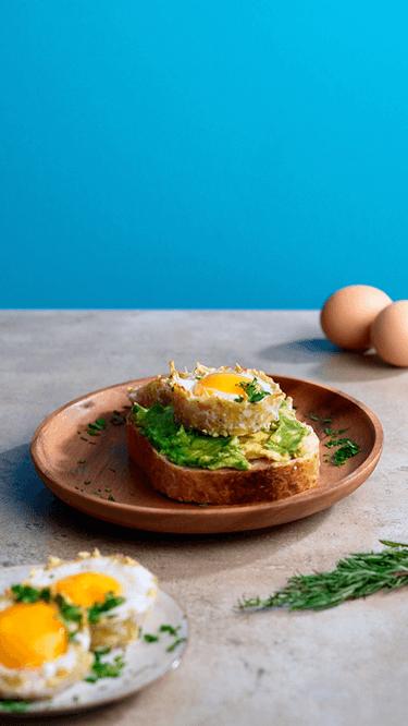 Röstibecher mit Ei
